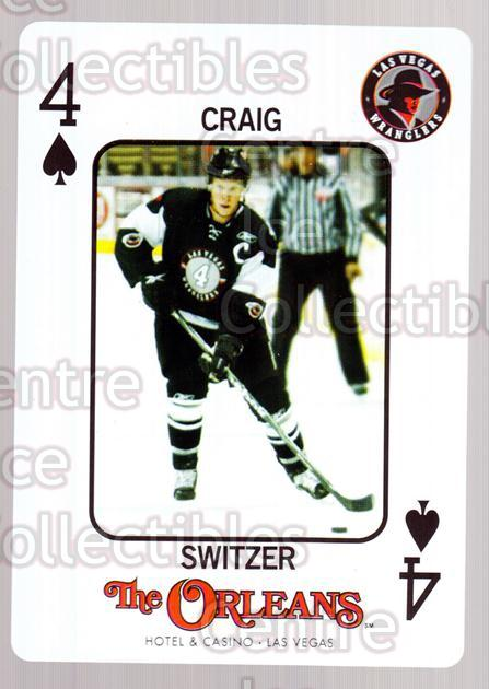 2010-11 Las Vegas Wranglers Playing Card #17 Craig Switzer<br/>1 In Stock - $3.00 each - <a href=https://centericecollectibles.foxycart.com/cart?name=2010-11%20Las%20Vegas%20Wranglers%20Playing%20Card%20%2317%20Craig%20Switzer...&quantity_max=1&price=$3.00&code=644467 class=foxycart> Buy it now! </a>