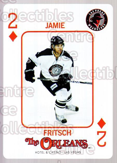 2010-11 Las Vegas Wranglers Playing Card #28 Jamie Fritsch<br/>1 In Stock - $3.00 each - <a href=https://centericecollectibles.foxycart.com/cart?name=2010-11%20Las%20Vegas%20Wranglers%20Playing%20Card%20%2328%20Jamie%20Fritsch...&quantity_max=1&price=$3.00&code=644478 class=foxycart> Buy it now! </a>
