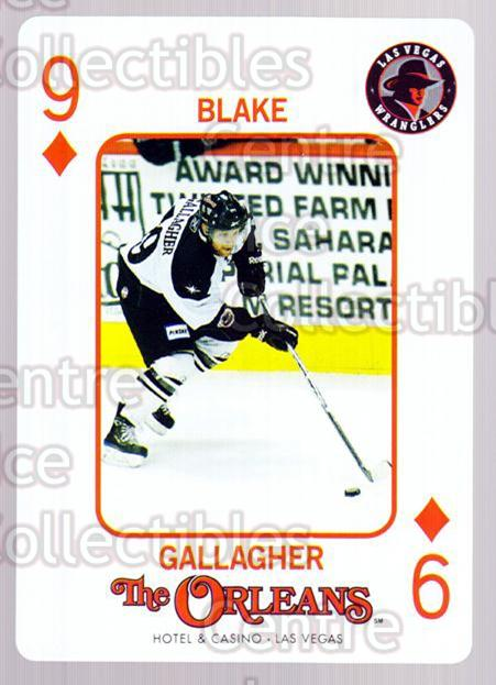 2010-11 Las Vegas Wranglers Playing Card #35 Blake Gallagher<br/>1 In Stock - $3.00 each - <a href=https://centericecollectibles.foxycart.com/cart?name=2010-11%20Las%20Vegas%20Wranglers%20Playing%20Card%20%2335%20Blake%20Gallagher...&quantity_max=1&price=$3.00&code=644485 class=foxycart> Buy it now! </a>