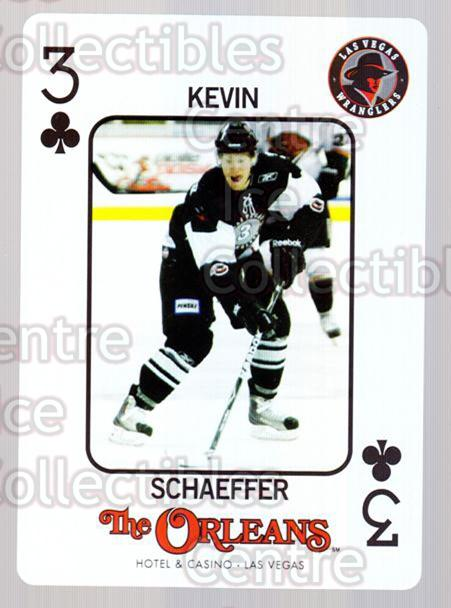 2010-11 Las Vegas Wranglers Playing Card #42 Kevin Schaeffer<br/>1 In Stock - $3.00 each - <a href=https://centericecollectibles.foxycart.com/cart?name=2010-11%20Las%20Vegas%20Wranglers%20Playing%20Card%20%2342%20Kevin%20Schaeffer...&quantity_max=1&price=$3.00&code=644492 class=foxycart> Buy it now! </a>