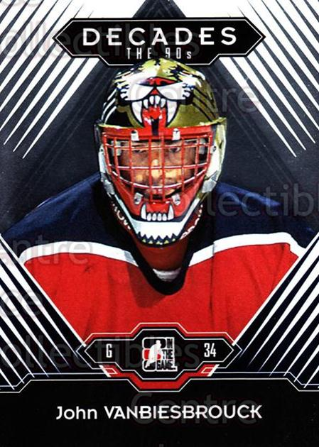 2013-14 ITG Decades 1990s #82 John Vanbiesbrouck<br/>1 In Stock - $3.00 each - <a href=https://centericecollectibles.foxycart.com/cart?name=2013-14%20ITG%20Decades%201990s%20%2382%20John%20Vanbiesbro...&quantity_max=1&price=$3.00&code=644713 class=foxycart> Buy it now! </a>