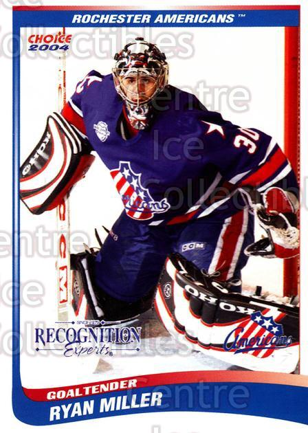 2003-04 Rochester Americans #14 Ryan Miller<br/>1 In Stock - $5.00 each - <a href=https://centericecollectibles.foxycart.com/cart?name=2003-04%20Rochester%20Americans%20%2314%20Ryan%20Miller...&quantity_max=1&price=$5.00&code=644934 class=foxycart> Buy it now! </a>