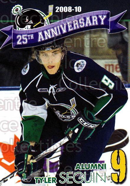 2014-15 Plymouth Whalers #29 Tyler Seguin<br/>5 In Stock - $3.00 each - <a href=https://centericecollectibles.foxycart.com/cart?name=2014-15%20Plymouth%20Whalers%20%2329%20Tyler%20Seguin...&quantity_max=5&price=$3.00&code=644965 class=foxycart> Buy it now! </a>