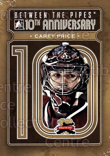 2011-12 Between The Pipes 10th Anniversary #14 Carey Price<br/>1 In Stock - $5.00 each - <a href=https://centericecollectibles.foxycart.com/cart?name=2011-12%20Between%20The%20Pipes%2010th%20Anniversary%20%2314%20Carey%20Price...&price=$5.00&code=645082 class=foxycart> Buy it now! </a>