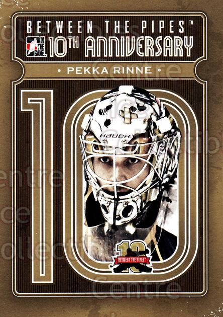 2011-12 Between The Pipes 10th Anniversary #15 Pekka Rinne<br/>2 In Stock - $3.00 each - <a href=https://centericecollectibles.foxycart.com/cart?name=2011-12%20Between%20The%20Pipes%2010th%20Anniversary%20%2315%20Pekka%20Rinne...&quantity_max=2&price=$3.00&code=645083 class=foxycart> Buy it now! </a>