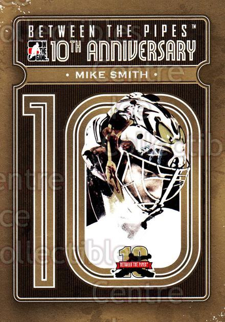 2011-12 Between The Pipes 10th Anniversary #20 Mike Smith<br/>3 In Stock - $3.00 each - <a href=https://centericecollectibles.foxycart.com/cart?name=2011-12%20Between%20The%20Pipes%2010th%20Anniversary%20%2320%20Mike%20Smith...&quantity_max=3&price=$3.00&code=645088 class=foxycart> Buy it now! </a>