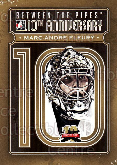 2011-12 Between The Pipes 10th Anniversary #21 Marc-Andre Fleury<br/>1 In Stock - $3.00 each - <a href=https://centericecollectibles.foxycart.com/cart?name=2011-12%20Between%20The%20Pipes%2010th%20Anniversary%20%2321%20Marc-Andre%20Fleu...&quantity_max=1&price=$3.00&code=645089 class=foxycart> Buy it now! </a>