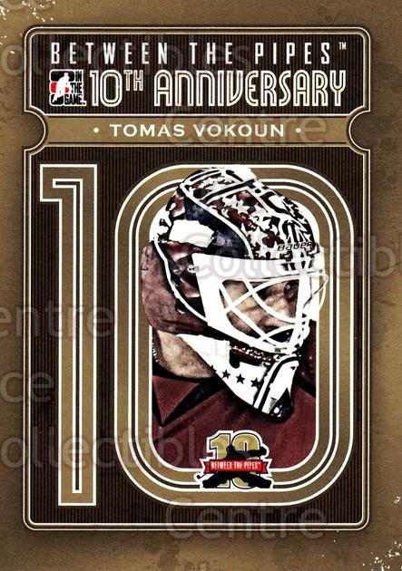 2011-12 Between The Pipes 10th Anniversary #29 Tomas Vokoun<br/>4 In Stock - $3.00 each - <a href=https://centericecollectibles.foxycart.com/cart?name=2011-12%20Between%20The%20Pipes%2010th%20Anniversary%20%2329%20Tomas%20Vokoun...&quantity_max=4&price=$3.00&code=645097 class=foxycart> Buy it now! </a>