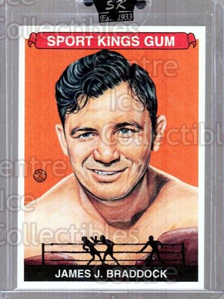 2008 Sportkings #70 James Braddock<br/>26 In Stock - $5.00 each - <a href=https://centericecollectibles.foxycart.com/cart?name=2008%20Sportkings%20%2370%20James%20Braddock...&quantity_max=26&price=$5.00&code=645435 class=foxycart> Buy it now! </a>