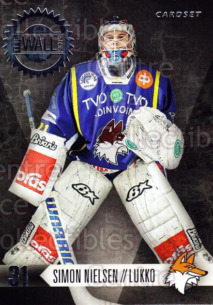 2012-13 Finnish Cardset The Wall #4 Simon Nielsen<br/>3 In Stock - $3.00 each - <a href=https://centericecollectibles.foxycart.com/cart?name=2012-13%20Finnish%20Cardset%20The%20Wall%20%234%20Simon%20Nielsen...&quantity_max=3&price=$3.00&code=645505 class=foxycart> Buy it now! </a>
