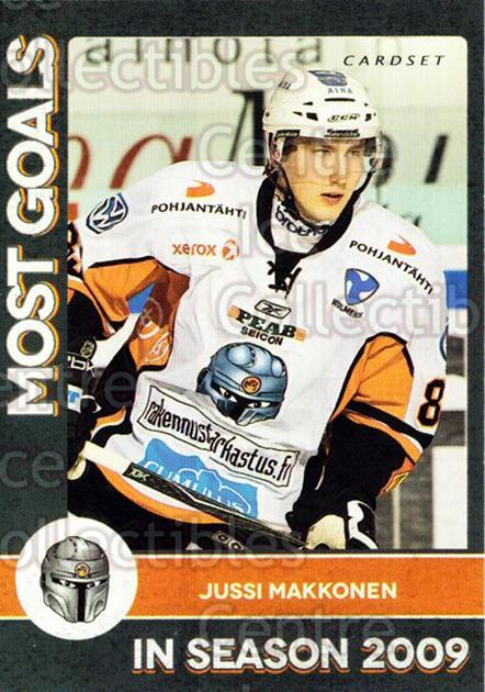 2013-14 Finnish Cardset Most Goals #5 Jussi Makkonen<br/>4 In Stock - $3.00 each - <a href=https://centericecollectibles.foxycart.com/cart?name=2013-14%20Finnish%20Cardset%20Most%20Goals%20%235%20Jussi%20Makkonen...&quantity_max=4&price=$3.00&code=645529 class=foxycart> Buy it now! </a>