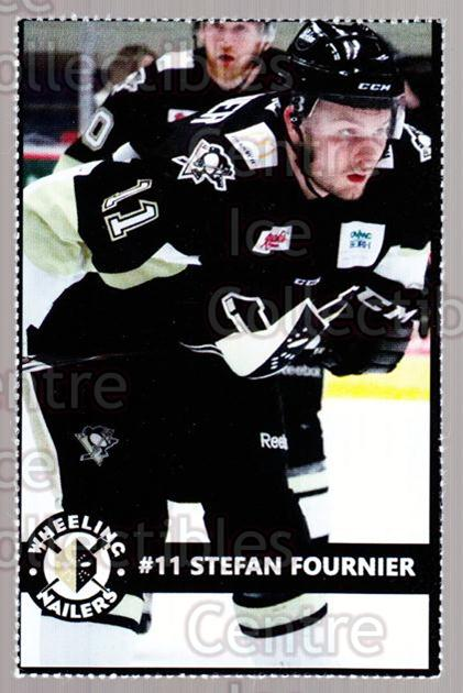 2014-15 Wheeling Nailers #8 Stefan Fournier<br/>2 In Stock - $3.00 each - <a href=https://centericecollectibles.foxycart.com/cart?name=2014-15%20Wheeling%20Nailers%20%238%20Stefan%20Fournier...&quantity_max=2&price=$3.00&code=645566 class=foxycart> Buy it now! </a>