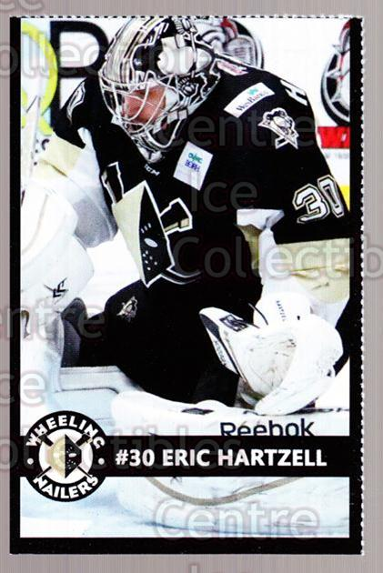 2014-15 Wheeling Nailers #11 Eric Hartzell<br/>1 In Stock - $3.00 each - <a href=https://centericecollectibles.foxycart.com/cart?name=2014-15%20Wheeling%20Nailers%20%2311%20Eric%20Hartzell...&quantity_max=1&price=$3.00&code=645569 class=foxycart> Buy it now! </a>