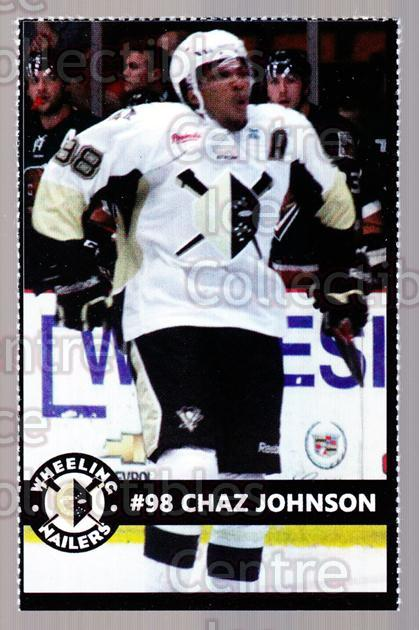 2014-15 Wheeling Nailers #12 Chad Johnson<br/>3 In Stock - $3.00 each - <a href=https://centericecollectibles.foxycart.com/cart?name=2014-15%20Wheeling%20Nailers%20%2312%20Chad%20Johnson...&quantity_max=3&price=$3.00&code=645570 class=foxycart> Buy it now! </a>