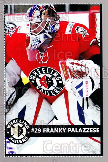 2014-15 Wheeling Nailers #17 Franky Palazzese<br/>1 In Stock - $3.00 each - <a href=https://centericecollectibles.foxycart.com/cart?name=2014-15%20Wheeling%20Nailers%20%2317%20Franky%20Palazzes...&quantity_max=1&price=$3.00&code=645575 class=foxycart> Buy it now! </a>