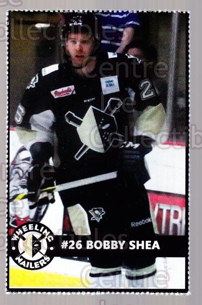 2014-15 Wheeling Nailers #21 Bobby Shea<br/>1 In Stock - $3.00 each - <a href=https://centericecollectibles.foxycart.com/cart?name=2014-15%20Wheeling%20Nailers%20%2321%20Bobby%20Shea...&quantity_max=1&price=$3.00&code=645579 class=foxycart> Buy it now! </a>