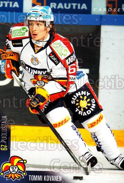 2010-11 Finnish Cardset #227 Tommi Kovanen<br/>1 In Stock - $2.00 each - <a href=https://centericecollectibles.foxycart.com/cart?name=2010-11%20Finnish%20Cardset%20%23227%20Tommi%20Kovanen...&price=$2.00&code=645964 class=foxycart> Buy it now! </a>