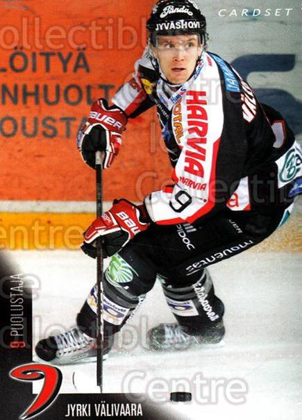 2010-11 Finnish Cardset #230 Jyrki Valivaara<br/>1 In Stock - $2.00 each - <a href=https://centericecollectibles.foxycart.com/cart?name=2010-11%20Finnish%20Cardset%20%23230%20Jyrki%20Valivaara...&quantity_max=1&price=$2.00&code=645967 class=foxycart> Buy it now! </a>