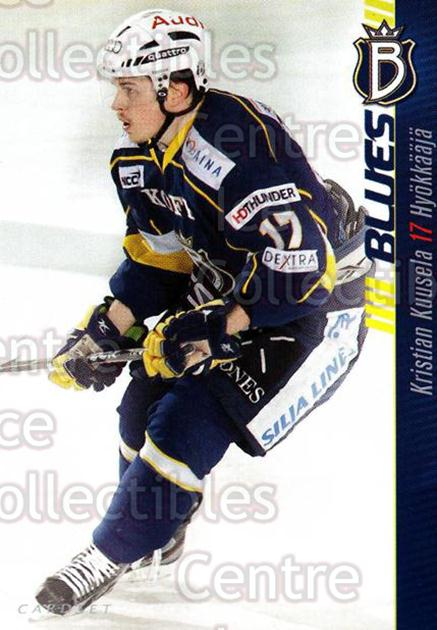 2012-13 Finnish Cardset #8 Kristian Kuusela<br/>1 In Stock - $2.00 each - <a href=https://centericecollectibles.foxycart.com/cart?name=2012-13%20Finnish%20Cardset%20%238%20Kristian%20Kuusel...&quantity_max=1&price=$2.00&code=646251 class=foxycart> Buy it now! </a>