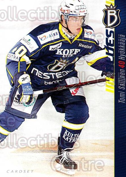 2012-13 Finnish Cardset #9 Tomi Salinen<br/>1 In Stock - $2.00 each - <a href=https://centericecollectibles.foxycart.com/cart?name=2012-13%20Finnish%20Cardset%20%239%20Tomi%20Salinen...&quantity_max=1&price=$2.00&code=646252 class=foxycart> Buy it now! </a>