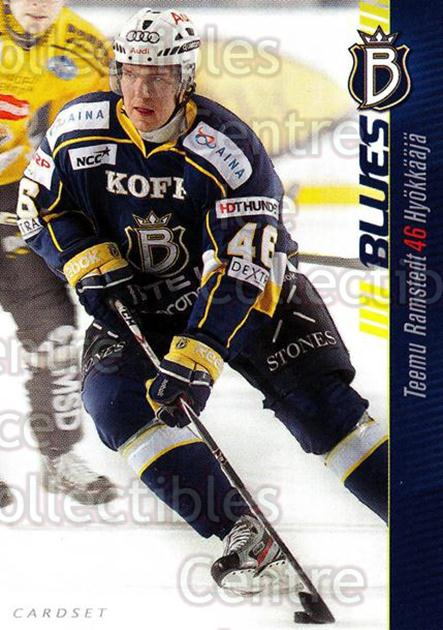 2012-13 Finnish Cardset #10 Teemu Ramstedt<br/>1 In Stock - $2.00 each - <a href=https://centericecollectibles.foxycart.com/cart?name=2012-13%20Finnish%20Cardset%20%2310%20Teemu%20Ramstedt...&quantity_max=1&price=$2.00&code=646253 class=foxycart> Buy it now! </a>