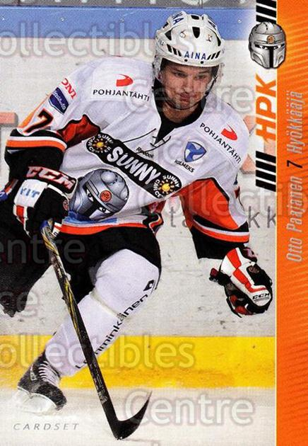2012-13 Finnish Cardset #31 Otto Paajanen<br/>1 In Stock - $2.00 each - <a href=https://centericecollectibles.foxycart.com/cart?name=2012-13%20Finnish%20Cardset%20%2331%20Otto%20Paajanen...&quantity_max=1&price=$2.00&code=646274 class=foxycart> Buy it now! </a>