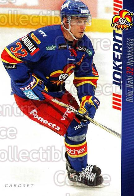 2012-13 Finnish Cardset #57 Riku Hahl<br/>1 In Stock - $2.00 each - <a href=https://centericecollectibles.foxycart.com/cart?name=2012-13%20Finnish%20Cardset%20%2357%20Riku%20Hahl...&price=$2.00&code=646300 class=foxycart> Buy it now! </a>