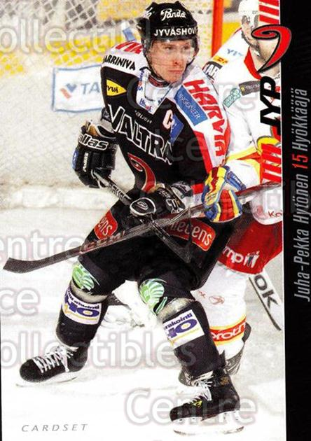 2012-13 Finnish Cardset #66 Juha-Pekka Hytonen<br/>1 In Stock - $2.00 each - <a href=https://centericecollectibles.foxycart.com/cart?name=2012-13%20Finnish%20Cardset%20%2366%20Juha-Pekka%20Hyto...&quantity_max=1&price=$2.00&code=646309 class=foxycart> Buy it now! </a>