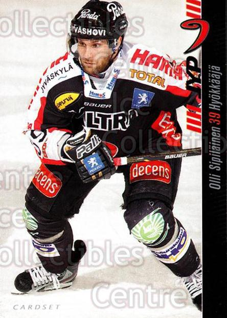 2012-13 Finnish Cardset #71 Olli Sipilainen<br/>1 In Stock - $2.00 each - <a href=https://centericecollectibles.foxycart.com/cart?name=2012-13%20Finnish%20Cardset%20%2371%20Olli%20Sipilainen...&price=$2.00&code=646314 class=foxycart> Buy it now! </a>