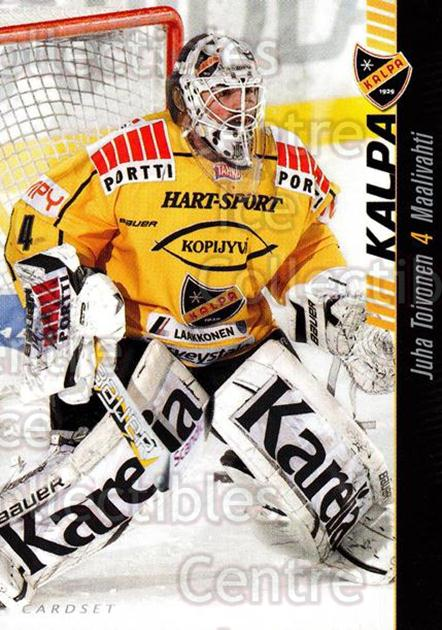 2012-13 Finnish Cardset #73 Juha Toivonen<br/>1 In Stock - $2.00 each - <a href=https://centericecollectibles.foxycart.com/cart?name=2012-13%20Finnish%20Cardset%20%2373%20Juha%20Toivonen...&quantity_max=1&price=$2.00&code=646316 class=foxycart> Buy it now! </a>