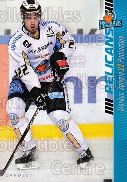 2012-13 Finnish Cardset #112 Markus Seikola<br/>1 In Stock - $2.00 each - <a href=https://centericecollectibles.foxycart.com/cart?name=2012-13%20Finnish%20Cardset%20%23112%20Markus%20Seikola...&quantity_max=1&price=$2.00&code=646355 class=foxycart> Buy it now! </a>