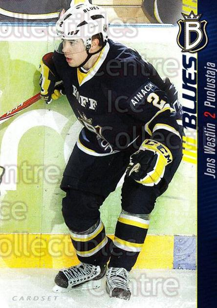2012-13 Finnish Cardset #170 Jens Westlin<br/>1 In Stock - $2.00 each - <a href=https://centericecollectibles.foxycart.com/cart?name=2012-13%20Finnish%20Cardset%20%23170%20Jens%20Westlin...&quantity_max=1&price=$2.00&code=646413 class=foxycart> Buy it now! </a>