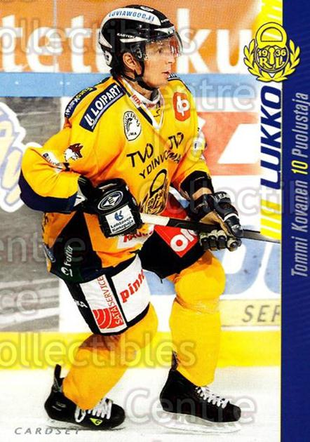 2012-13 Finnish Cardset #266 Tommi Kovanen<br/>1 In Stock - $2.00 each - <a href=https://centericecollectibles.foxycart.com/cart?name=2012-13%20Finnish%20Cardset%20%23266%20Tommi%20Kovanen...&quantity_max=1&price=$2.00&code=646509 class=foxycart> Buy it now! </a>