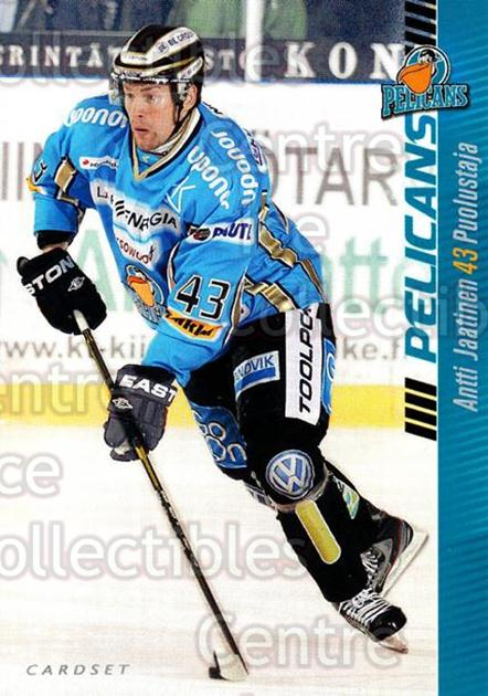 2012-13 Finnish Cardset #282 Antti Jaatinen<br/>1 In Stock - $2.00 each - <a href=https://centericecollectibles.foxycart.com/cart?name=2012-13%20Finnish%20Cardset%20%23282%20Antti%20Jaatinen...&quantity_max=1&price=$2.00&code=646525 class=foxycart> Buy it now! </a>