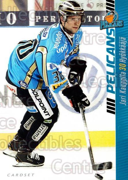 2012-13 Finnish Cardset #286 Jari Kauppila<br/>1 In Stock - $2.00 each - <a href=https://centericecollectibles.foxycart.com/cart?name=2012-13%20Finnish%20Cardset%20%23286%20Jari%20Kauppila...&quantity_max=1&price=$2.00&code=646529 class=foxycart> Buy it now! </a>