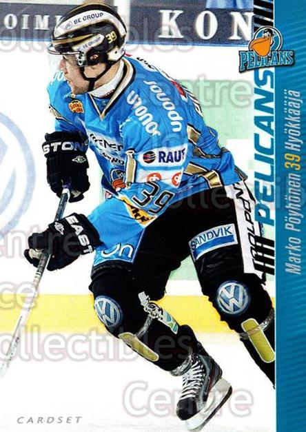2012-13 Finnish Cardset #287 Marko Poyhonen<br/>1 In Stock - $2.00 each - <a href=https://centericecollectibles.foxycart.com/cart?name=2012-13%20Finnish%20Cardset%20%23287%20Marko%20Poyhonen...&quantity_max=1&price=$2.00&code=646530 class=foxycart> Buy it now! </a>