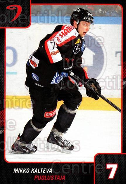 2013-14 Finnish Cardset #63 Mikko Kalteva<br/>3 In Stock - $2.00 each - <a href=https://centericecollectibles.foxycart.com/cart?name=2013-14%20Finnish%20Cardset%20%2363%20Mikko%20Kalteva...&quantity_max=3&price=$2.00&code=646642 class=foxycart> Buy it now! </a>