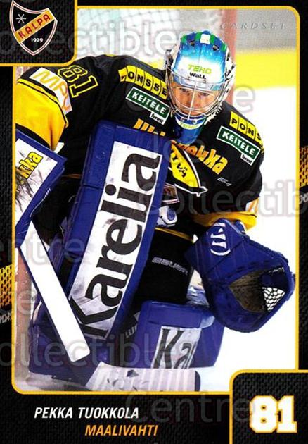 2013-14 Finnish Cardset #73 Pekka Tuokkola<br/>3 In Stock - $2.00 each - <a href=https://centericecollectibles.foxycart.com/cart?name=2013-14%20Finnish%20Cardset%20%2373%20Pekka%20Tuokkola...&price=$2.00&code=646652 class=foxycart> Buy it now! </a>