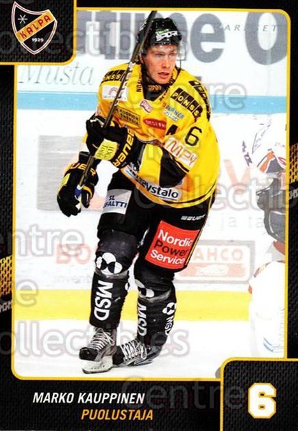 2013-14 Finnish Cardset #75 Marko Kauppinen<br/>2 In Stock - $2.00 each - <a href=https://centericecollectibles.foxycart.com/cart?name=2013-14%20Finnish%20Cardset%20%2375%20Marko%20Kauppinen...&quantity_max=2&price=$2.00&code=646654 class=foxycart> Buy it now! </a>