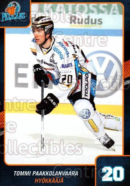 2013-14 Finnish Cardset #116 Tommi Paakkolanvaara<br/>1 In Stock - $2.00 each - <a href=https://centericecollectibles.foxycart.com/cart?name=2013-14%20Finnish%20Cardset%20%23116%20Tommi%20Paakkolan...&quantity_max=1&price=$2.00&code=646695 class=foxycart> Buy it now! </a>