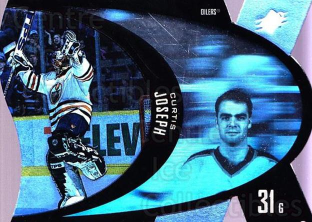 1997-98 SPx #19 Curtis Joseph<br/>5 In Stock - $1.00 each - <a href=https://centericecollectibles.foxycart.com/cart?name=1997-98%20SPx%20%2319%20Curtis%20Joseph...&quantity_max=5&price=$1.00&code=64696 class=foxycart> Buy it now! </a>