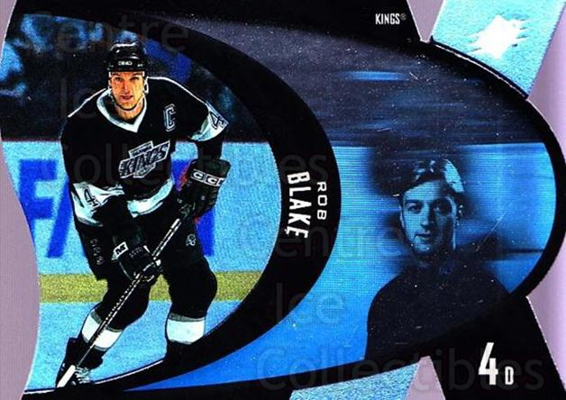 1997-98 SPx #23 Rob Blake<br/>9 In Stock - $1.00 each - <a href=https://centericecollectibles.foxycart.com/cart?name=1997-98%20SPx%20%2323%20Rob%20Blake...&quantity_max=9&price=$1.00&code=64700 class=foxycart> Buy it now! </a>