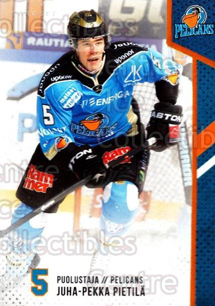 2014-15 Finnish Cardset #98 Juha-Pekka Pietila<br/>2 In Stock - $2.00 each - <a href=https://centericecollectibles.foxycart.com/cart?name=2014-15%20Finnish%20Cardset%20%2398%20Juha-Pekka%20Piet...&quantity_max=2&price=$2.00&code=647014 class=foxycart> Buy it now! </a>