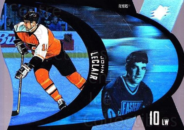 1997-98 SPx #38 John LeClair<br/>6 In Stock - $1.00 each - <a href=https://centericecollectibles.foxycart.com/cart?name=1997-98%20SPx%20%2338%20John%20LeClair...&quantity_max=6&price=$1.00&code=64714 class=foxycart> Buy it now! </a>