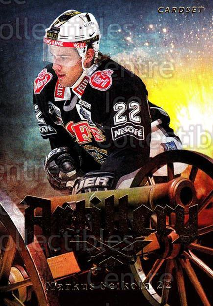 2013-14 Finnish Cardset Artillery #13 Markus Seikola<br/>3 In Stock - $3.00 each - <a href=https://centericecollectibles.foxycart.com/cart?name=2013-14%20Finnish%20Cardset%20Artillery%20%2313%20Markus%20Seikola...&quantity_max=3&price=$3.00&code=647283 class=foxycart> Buy it now! </a>
