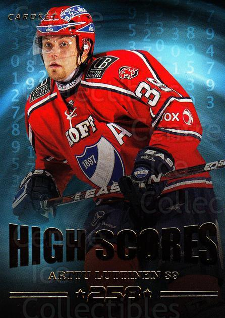 2013-14 Finnish Cardset High Scores #2 Arttu Luttinen<br/>1 In Stock - $3.00 each - <a href=https://centericecollectibles.foxycart.com/cart?name=2013-14%20Finnish%20Cardset%20High%20Scores%20%232%20Arttu%20Luttinen...&quantity_max=1&price=$3.00&code=647300 class=foxycart> Buy it now! </a>