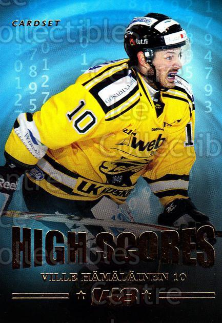 2013-14 Finnish Cardset High Scores #11 Ville Hamalainen<br/>3 In Stock - $3.00 each - <a href=https://centericecollectibles.foxycart.com/cart?name=2013-14%20Finnish%20Cardset%20High%20Scores%20%2311%20Ville%20Hamalaine...&quantity_max=3&price=$3.00&code=647309 class=foxycart> Buy it now! </a>