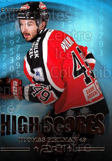 2013-14 Finnish Cardset High Scores #14 Tuomas Pihlman<br/>5 In Stock - $3.00 each - <a href=https://centericecollectibles.foxycart.com/cart?name=2013-14%20Finnish%20Cardset%20High%20Scores%20%2314%20Tuomas%20Pihlman...&quantity_max=5&price=$3.00&code=647312 class=foxycart> Buy it now! </a>