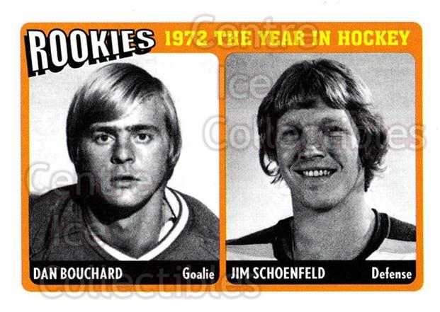 2009-10 ITG 1972 The Year In Hockey Rookies #1 Dan Bouchard, Jim Schoenfeld<br/>1 In Stock - $3.00 each - <a href=https://centericecollectibles.foxycart.com/cart?name=2009-10%20ITG%201972%20The%20Year%20In%20Hockey%20Rookies%20%231%20Dan%20Bouchard,%20J...&quantity_max=1&price=$3.00&code=647643 class=foxycart> Buy it now! </a>