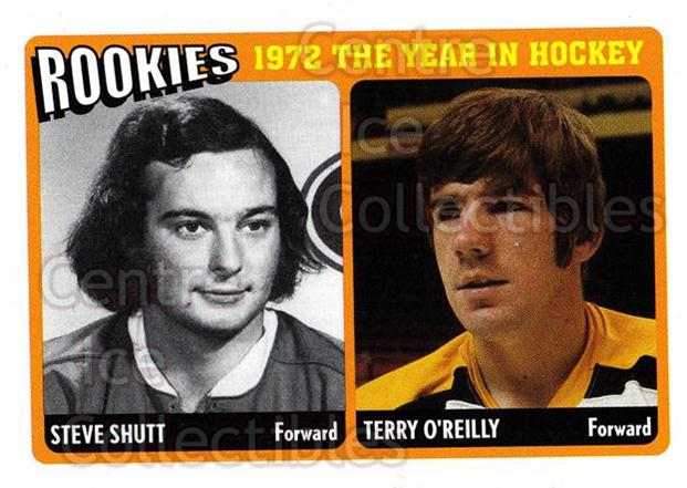 2009-10 ITG 1972 The Year In Hockey Rookies #4 Steve Shutt, Terry O'Reilly<br/>2 In Stock - $3.00 each - <a href=https://centericecollectibles.foxycart.com/cart?name=2009-10%20ITG%201972%20The%20Year%20In%20Hockey%20Rookies%20%234%20Steve%20Shutt,%20Te...&price=$3.00&code=647646 class=foxycart> Buy it now! </a>
